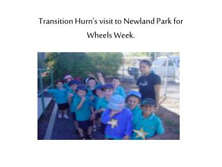 Transition Hurn's visit to Newland Park for  Wheels Week.