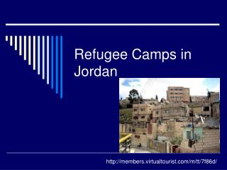 Refugee Camps in Jordan