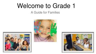 Welcome to Grade 1