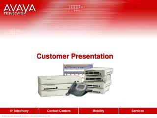 Customer Presentation