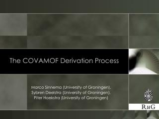 The COVAMOF Derivation Process