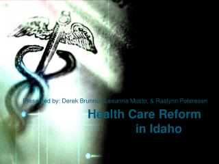 Health Care Reform  in Idaho