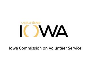 Iowa Commission on Volunteer Service