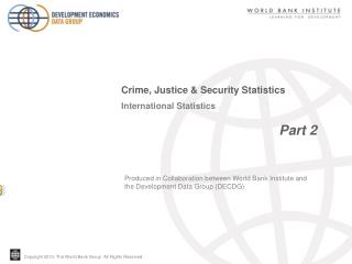 International Statistics                                          Part 2