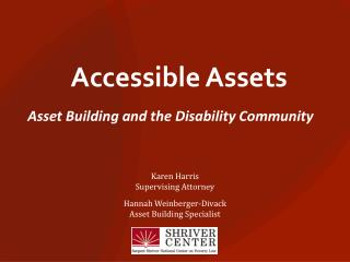 Accessible Assets