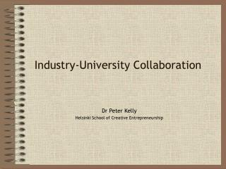 Industry-University Collaboration