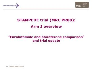 STAMPEDE trial (MRC PR08):  Arm J overview
