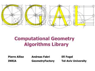 Computational Geometry                Algorithms Library