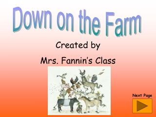 Created by Mrs. Fannin's Class