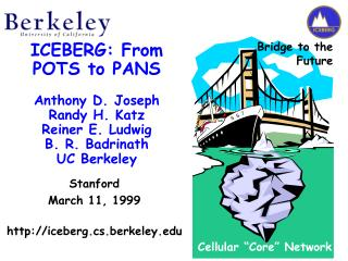 Stanford March 11, 1999 iceberg.cs.berkeley