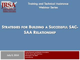 Strategies for Building a Successful SAC-SAA Relationship