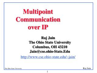Multipoint Communication over IP