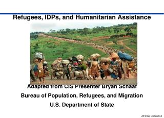 Refugees, IDPs, and Humanitarian Assistance