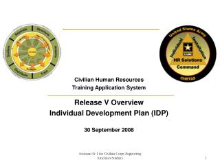 Civilian Human Resources Training Application System Release V Overview