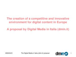 About Digital Media in Italia