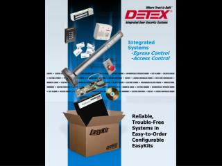 Integrated Systems   -Egress Control   -Access Control