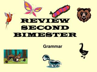 REVIEW SECOND BIMESTER