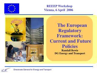 REEEP Workshop   Vienna, 6 April  2006