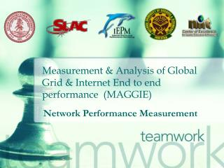 Measurement & Analysis of Global Grid & Internet End to end performance  (MAGGIE)