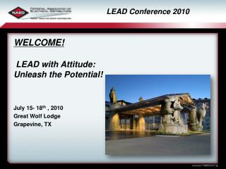 LEAD Conference 2010