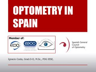 OPTOMETRY IN SPAIN