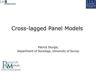 Cross-lagged Panel Models