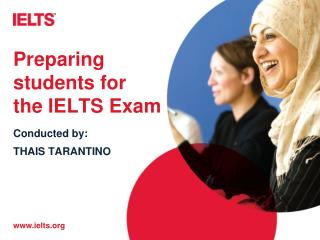 Preparing students for the IELTS Exam