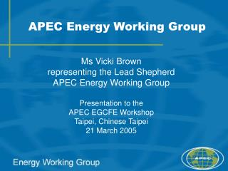 APEC Energy Working Group