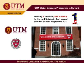 UTM Global Outreach Programme in Harvard