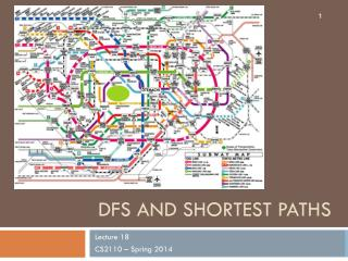 DFS and Shortest Paths