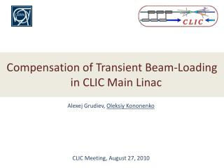Compensation of Transient Beam-Loading in CLIC Main  Linac