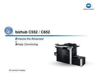 bizhub C552 / C652