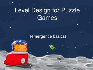 Level Design for Puzzle Games