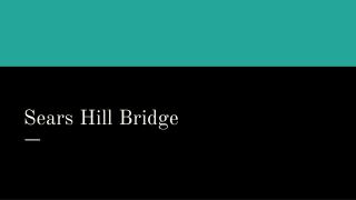 Sears Hill Bridge