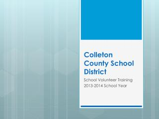 Colleton County School District
