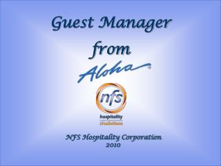 Guest Manager from