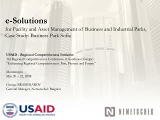 USAID - Regional Competitiveness Initiative
