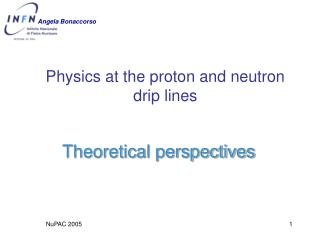 Physics at the proton and neutron  drip lines