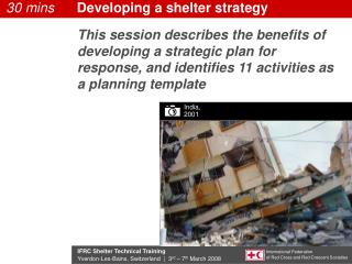 Developing a shelter strategy