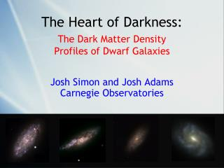 The Heart of Darkness: