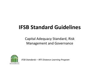 IFSB Standard Guidelines