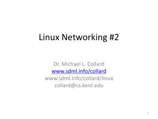 Linux Networking #2