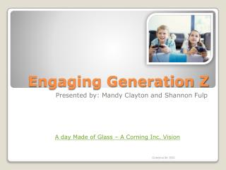 Engaging Generation Z