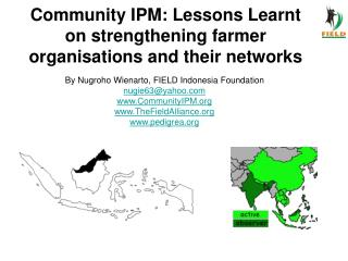 Community IPM: Lessons Learnt on strengthening farmer organisations and their networks