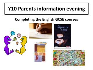 Y10 Parents information evening