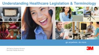 Understanding Healthcare Legislation & Terminology