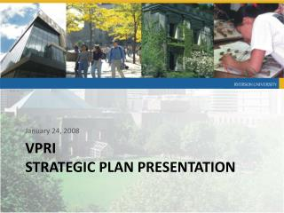 VPRI  Strategic Plan Presentation