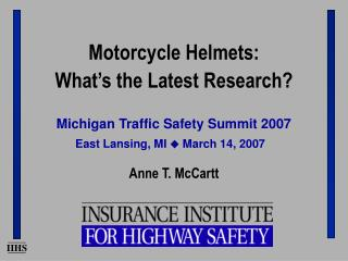 Michigan Traffic Safety Summit 2007