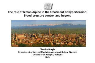 The role of lercanidipine in the treatment of hypertension:  Blood pressure control and beyond