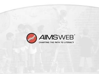 Local AIMSweb® Manager: Taking the Role
